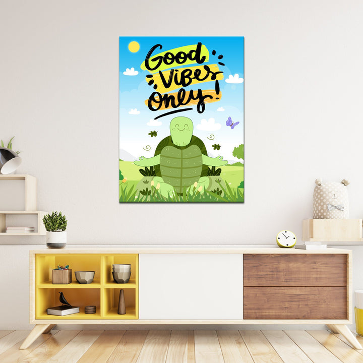 Vibey Turtle - Kidspiration Art