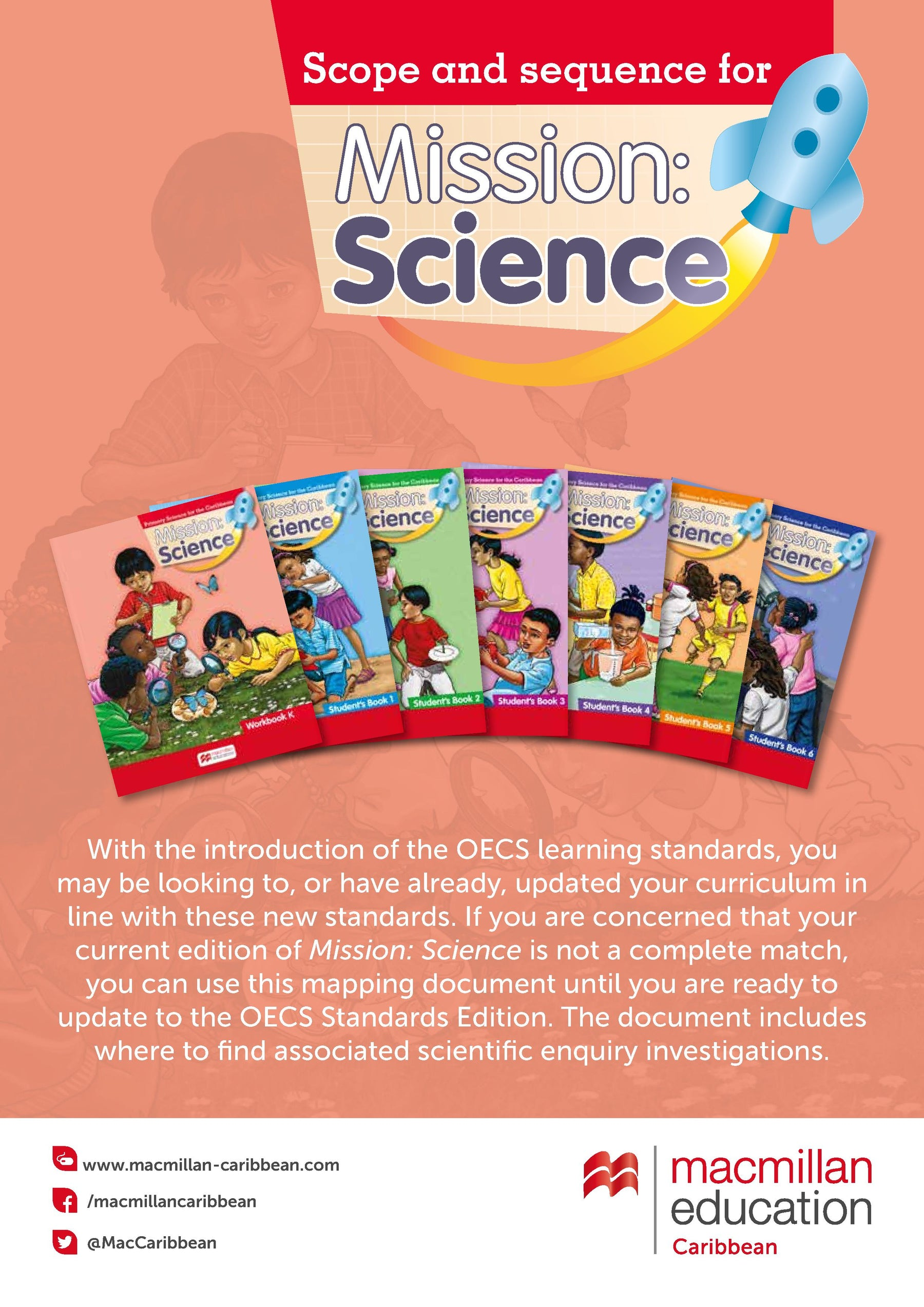 MISSION: SCIENCE Mapping document for the OECS standard