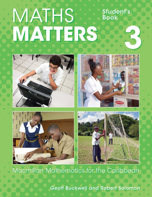 Maths Matters Student's Book 3