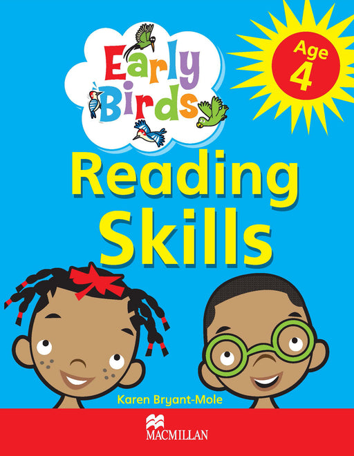 Early Birds Reading Skills Workbook: Age 4