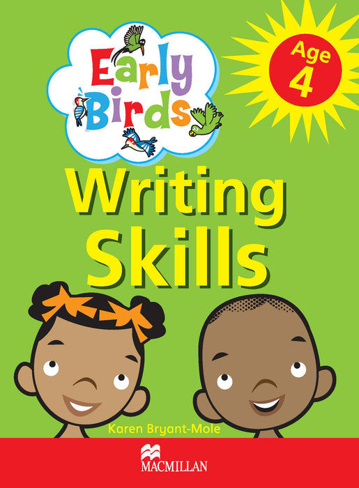 Early Birds Writing Skills Workbook: Age 4