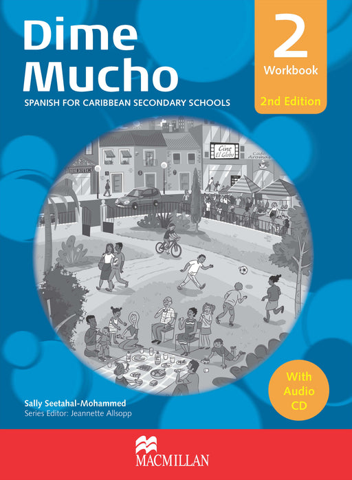 Dime Mucho 2nd Edition Workbook 2 with Audio CD