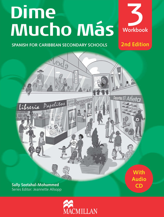 Dime Mucho Mas 2nd Edition Workbook 3 with Audio CD