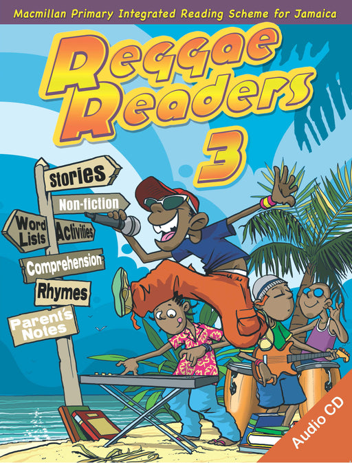 Reggae Readers Book 3 with Audio CD
