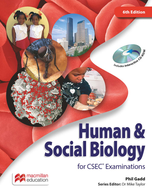 Human & Social Biology for CSEC® Examinations 6th Edition Student's Book and CD-ROM