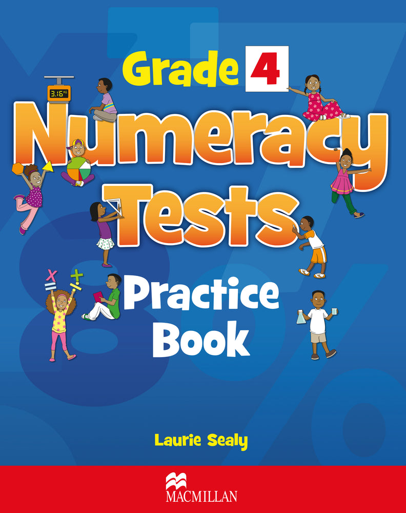 Grade 4 Numeracy Tests Practice Book for Jamaica