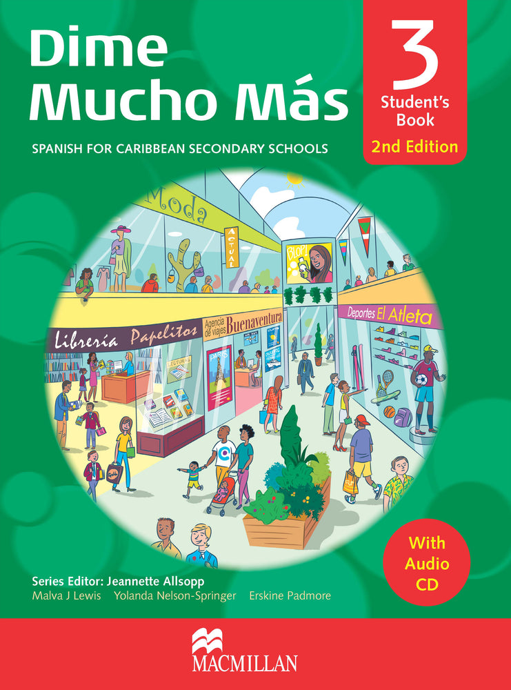 Dime Mucho Mas 2nd Edition Student's Book 3 with Audio CD