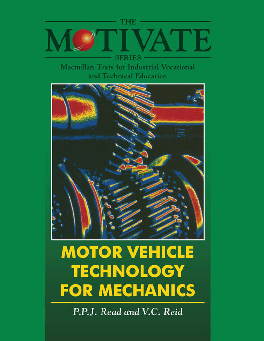 Motor Vehicle Technology for Mechanics