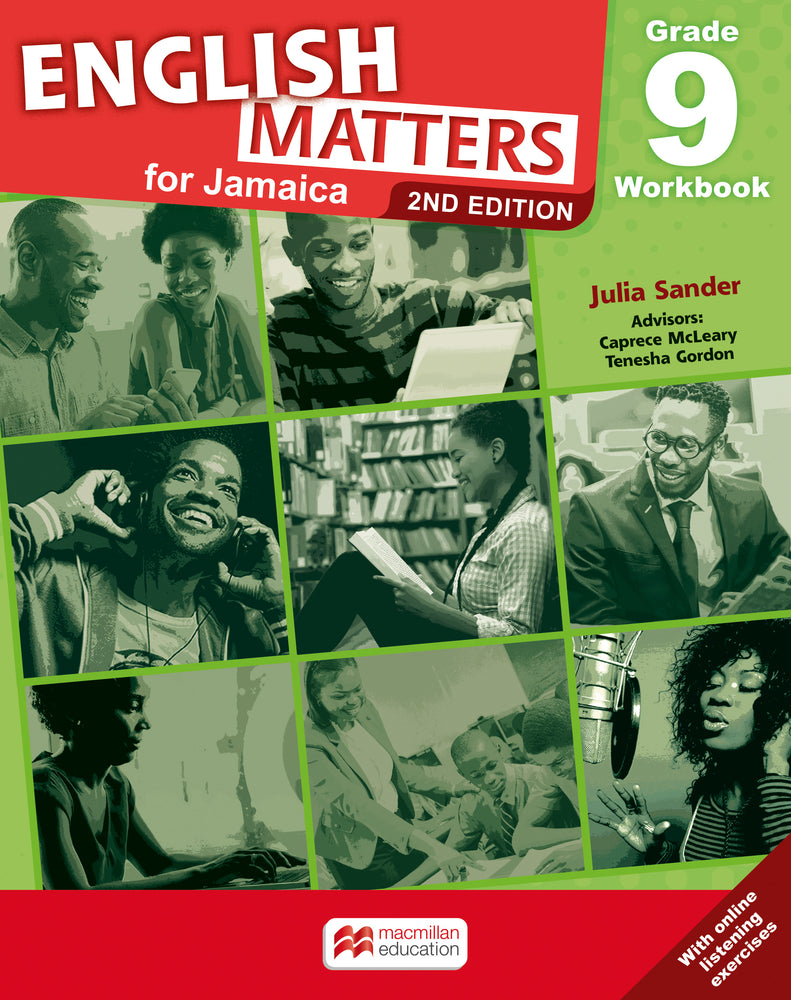 English Matters for Jamaica 2E Grade 9 Workbook