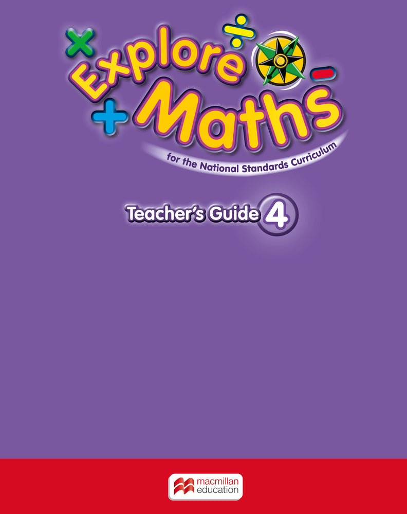 Explore Maths for Jamaica Grade 4 Teacher's Book