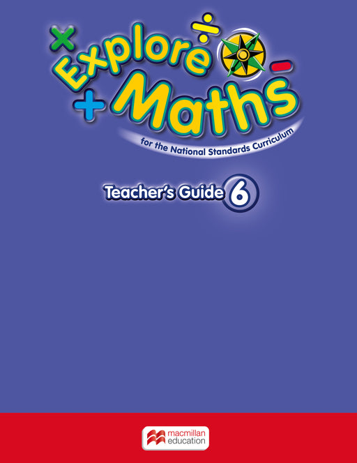 Explore Maths for Jamaica Grade 6 Teacher's Book