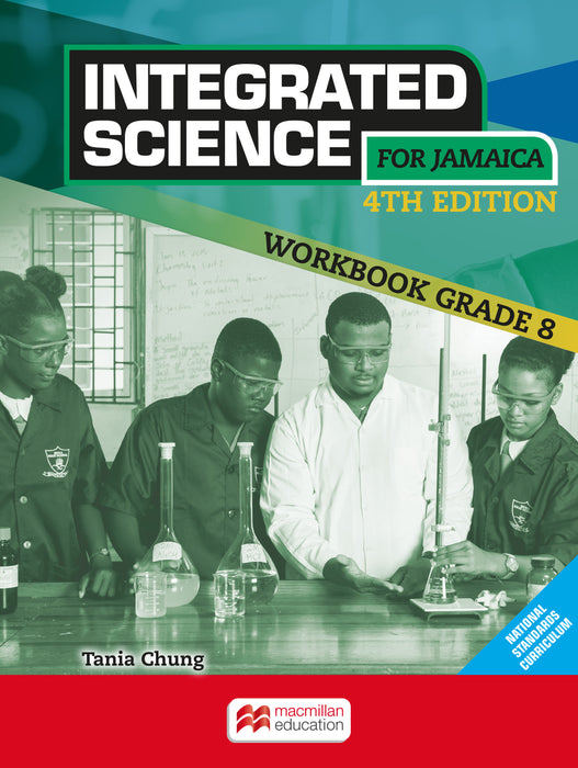 Integrated Science for Jamaica 4th Edition Grade 8 Workbook