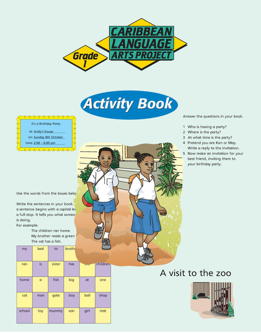 Caribbean Primary Language Arts Project: Grade 1 Activity Book