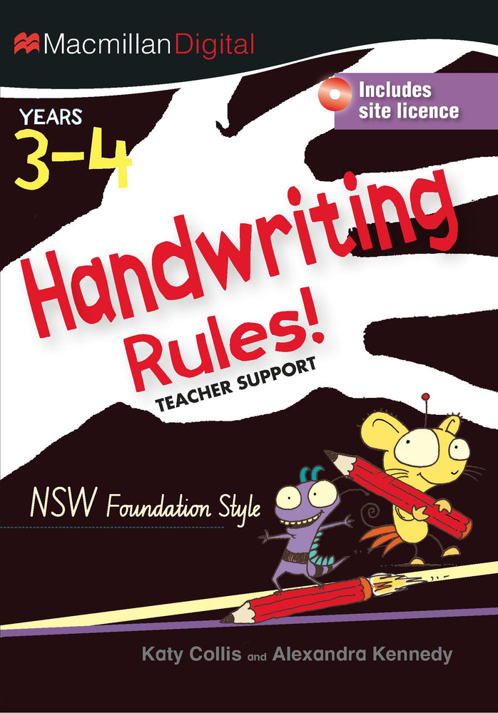Handwriting Rules NSW CD Y3-4