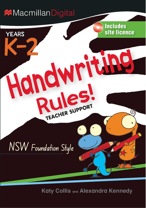 Handwriting Rules NSW CD K-2