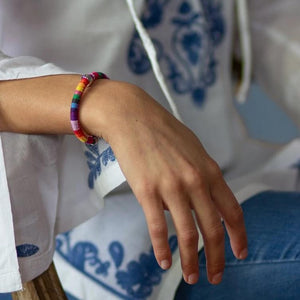 -  Xtinctio Bracelet- Highly Durable, Comfortable, Fun and well made Eco conscious linen cotton HOPE bracelet is lovingly hand made in the USA.