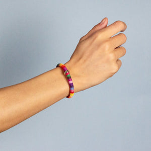 xtinctio - Bracelet highly Durable, Comfortable, Fun and well made eco-conscious linen/cotton hope  bracelet is lovingly hand made in the USA.  Each color represents an endangered species