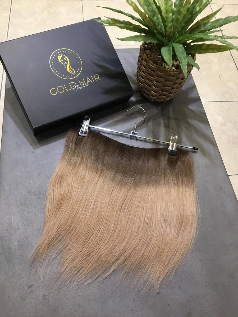 Blonde Halo Clip-in Hair Extensions 14""