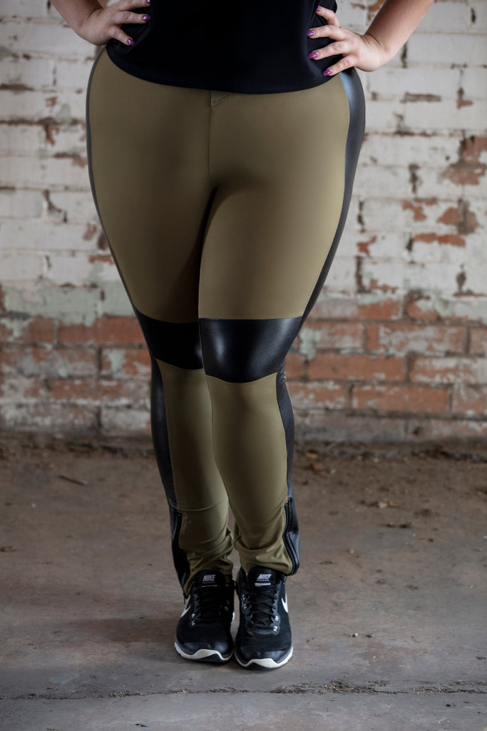 Active Legging (Olive)