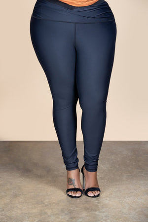 Overlap Legging (Black)
