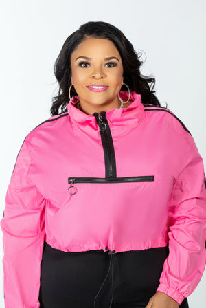 Wind Runner Jacket (Pink)- FINAL SALE