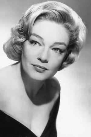 Simone Signoret french actress portrait