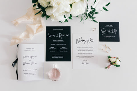 wedding invites and stationary for wedding ceremony