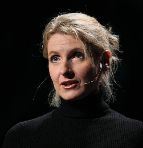 writer of the book Eat Pray Love Elizabeth Gilbert