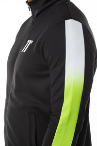 11 DEGREES DOT FADE PANNELLED TRACKTOP
