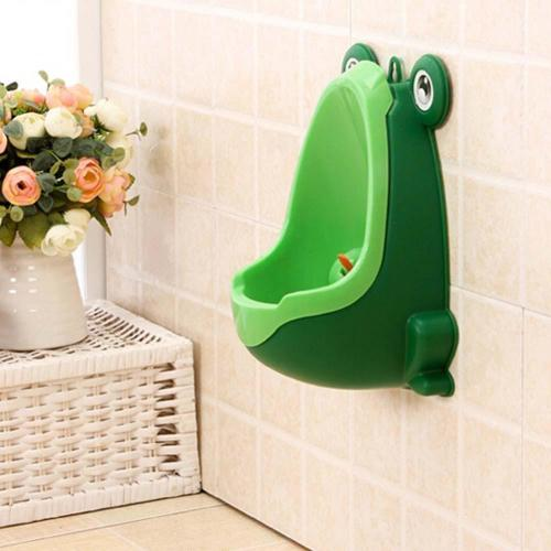 Frog Plastic Boys Potty Toilet Training Kids Urinal Bathroom - Only in Green
