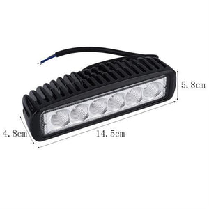 18W Spot Offroad 6 Inch Led Driving Work Light Signal Row Suv 4Wd