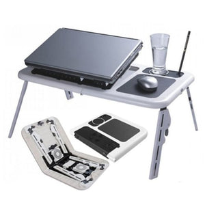Adjustable Folding Laptop Table E-Table
