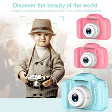 Load image into Gallery viewer, Kids Camera Rechargeable Children Creative Camera 8 Mp 1080 P 2 Inch Lcd Screen Digital Video