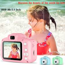 Kids Camera Rechargeable Children Creative Camera 8 Mp 1080 P 2 Inch Lcd Screen Digital Video