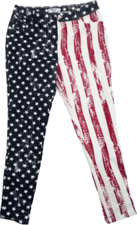Born in The USA Jeggings (size 32)