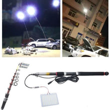 Load image into Gallery viewer, High Power Ultra Bright Telescopic Fishing Rod Led Camping Light for Outdoor with Remote