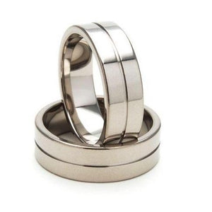 Glossy Mirror Finish Tungsten Carbide Ring - Strongest material on the market - Size 11