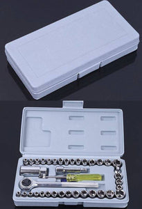 40 Piece Combination Socket Wrench Set