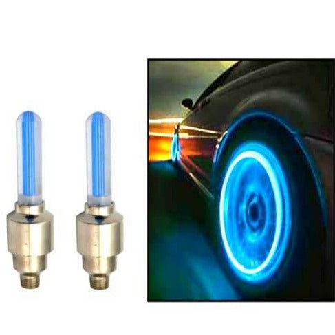 Wheel Glow Lights - For Car/Motorbike/Bicycle - set of 2 - BLUE