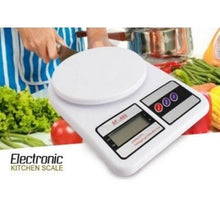 Load image into Gallery viewer, Electronic Kitchen Food Scale for Baking and Cooking Digital Weight Grams and Oz