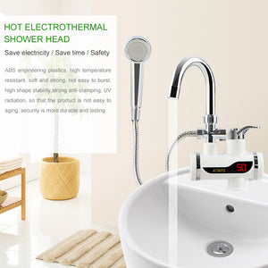 Instant electric heating water faucet & shower
