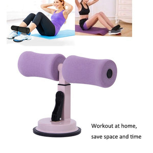 Self-Suction Sit-Ups Abdominal Exercise Assistant - Blue