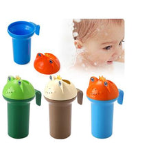 Load image into Gallery viewer, Baby Bath Frog Shampoo Cup