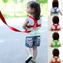 Load image into Gallery viewer, Toddler Safety Strap Harness with Wings (pink or Blue)