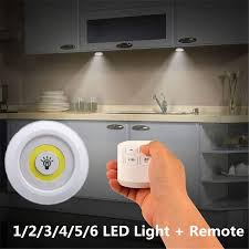 LED Light with Remote Control - Set of 2