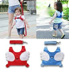 Toddler Safety Strap Harness with Wings (pink or Blue)