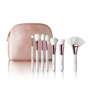 7 Piece Face brush set
