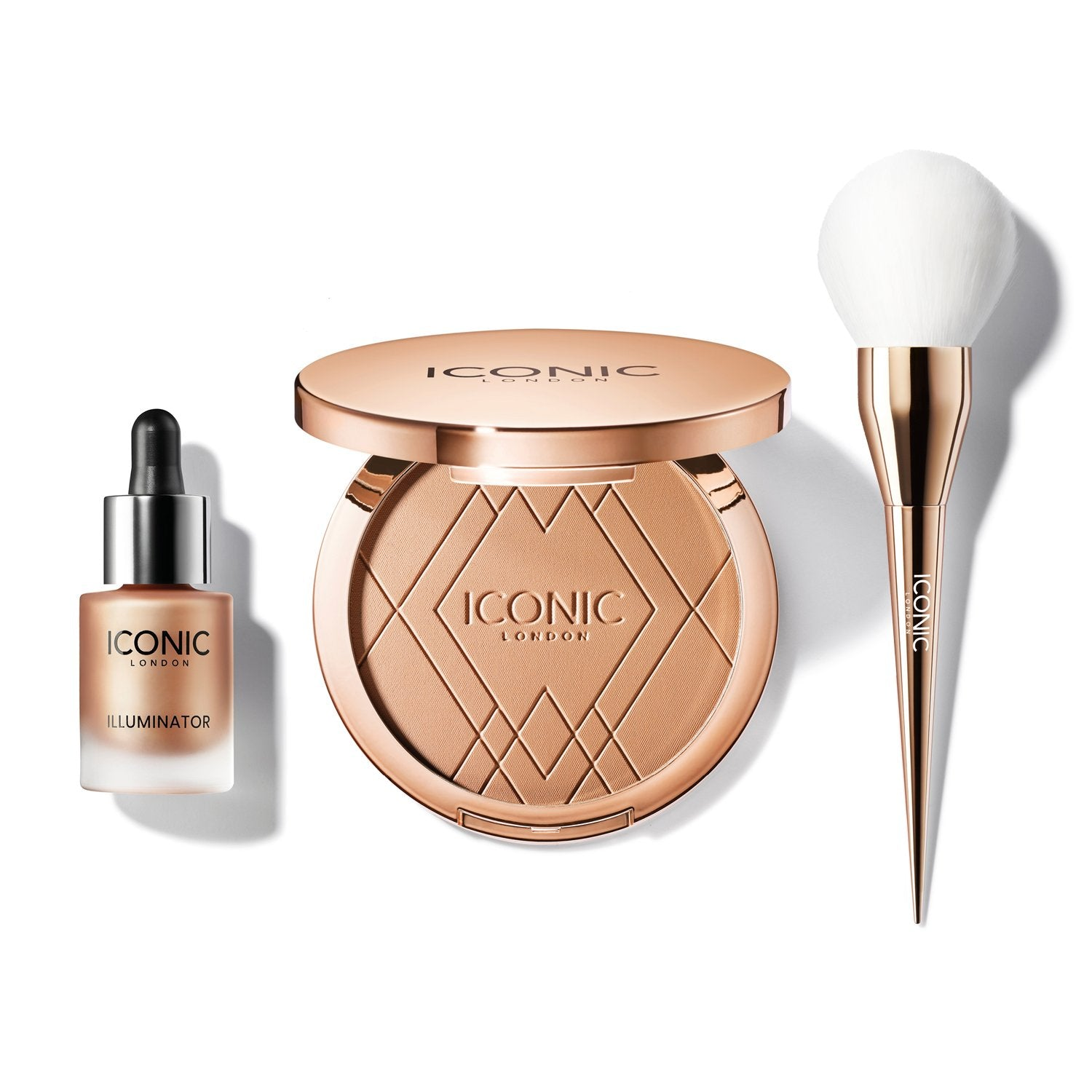 Bronze & Glow Duo with Brush
