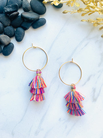 Moon Collection Rainbow Tassels