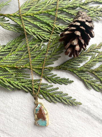 Pine Collection Petit Chrysoprase Layering Necklace